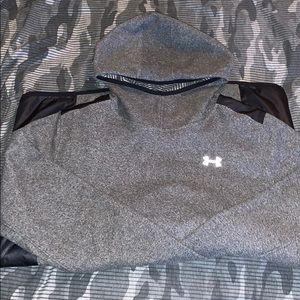 Underarmour Cold Gear, Women's XL Hoodie INFARED